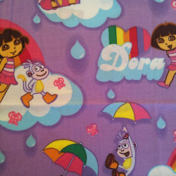 Dora the Explorer Fabric Scrap Pack