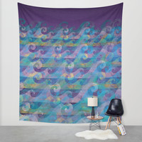 Tempest Wall Tapestry by Noonday Design