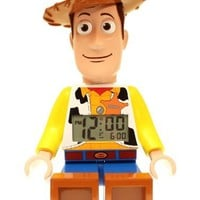 LEGO Kids' 9002731 Toy Story Woody Mini-Figure Alarm Clock