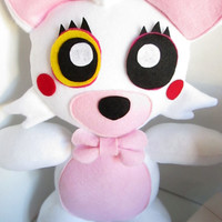 Not for Christmas! Mangle Plush Inspired by Five Nights at Freddy's (Unofficial) FNAF