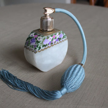 Vintage Italian, Hand-crafted Perfume Bottle