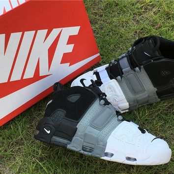 [FREE SHIPPNG] Mens Nike Air More Uptempo Scottie Pippen ´96 921948-002 Black