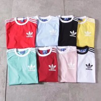 adidas Originals Three Stripe T-shirt ( 8 color)