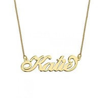 Carrie Style Name Necklace