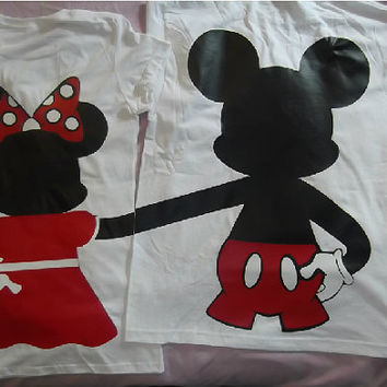 Mickey and Minnie Im His Minnie Im Her Mickey T-Shirts