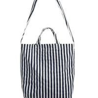 Stripes Contrast Color Totes