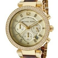 Michael Kors Women's Parker Brown Watch MK5688