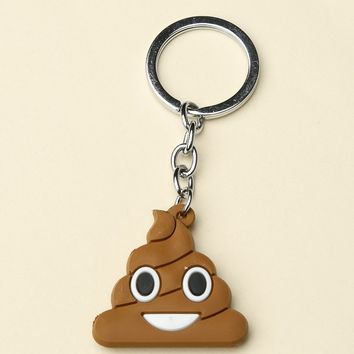 POOP KEYCHAIN