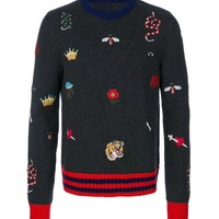 Indie Designs Embroideries Wool Sweater