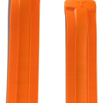 Tissot T-Touch Expert SOLAR Orange Rubber 20mm Strap Band for T091420A