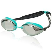 TYR Tracer Femme Racing Metallized Goggle at SwimOutlet.com