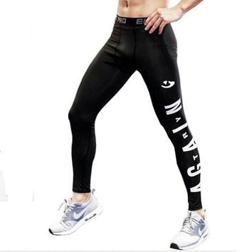 Men Running Tights Pro Compress Yoga Pants GYM Exercise Fitness Capri Leggings Workout Basketball Exercise Train Sports Clothing