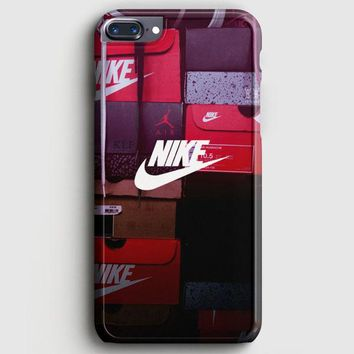 Nike Colorful Embosement iPhone 8 Plus Case