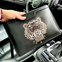 Kenzo high-end versatile men and women clutch
