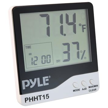 Pyle Pro Indoor Digital Hygro-thermometer