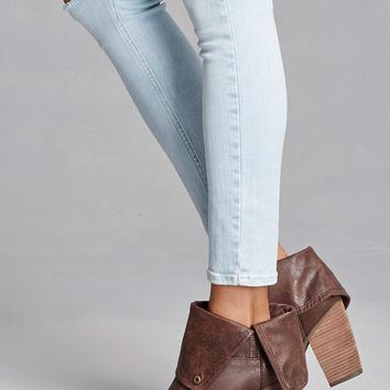 Sbicca Distressed Booties