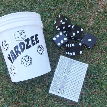 Yardzee Large Scale Outdoor Yahtzee Dice Game