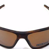 New Oakley Sunglasses Double Edge Matte Tortoise Polarized Prizm oo9380-0766