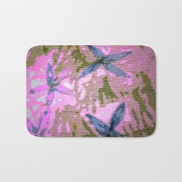 Tropic Bath Mat by Jessica Ivy