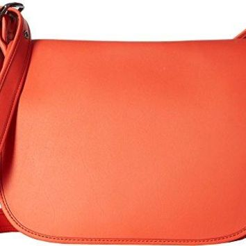 COACH Womens Gloveton Leather Saddle Bag COACH bag