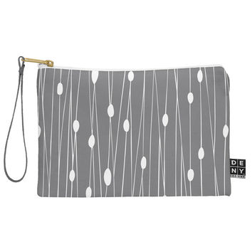 Heather Dutton Gray Entangled Pouch