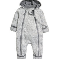 H&M Knit Fleece Jumpsuit $24.99