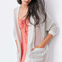 Ecote Kendrix Open Knit Cardigan | Urban Outfitters