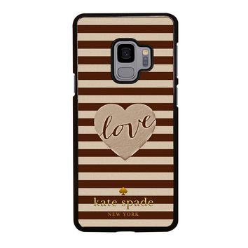 KATE SPADE LOVE Samsung Galaxy S3 S4 S5 S6 S7 S8 S9 Edge Plus Note 3 4 5 8 Case