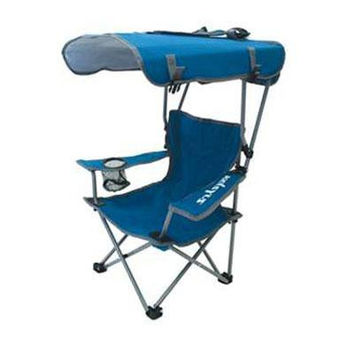 K Kids Canopy Chair Blue Gray
