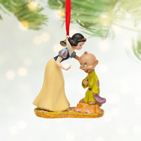 Disney Snow White and Dopey Sketchbook Ornament | Disney Store
