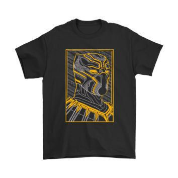 Marvel Black Panther Poster Style Shirts