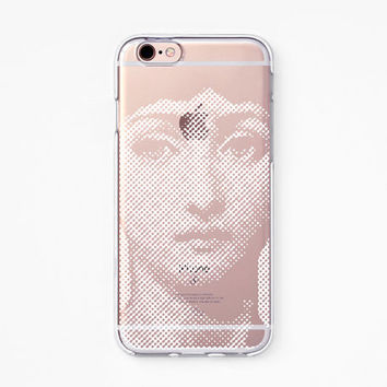 iPhone Case - 'Victorian Women' - iPhone 6s case, iPhone 6 case, iPhone 6+ case - Clear Flexible Rubber TPU case J32