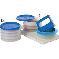 Tupperware | Hamburger Press and Keepers Set