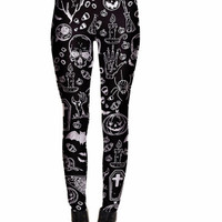 Unique Goth Leggings