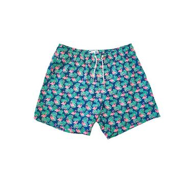 Bermies Classics Flamingo Trunks Blue