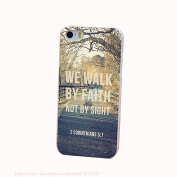Bible Verse Phone Case for iPhone 4 4s 5 5s 5c 6 6s