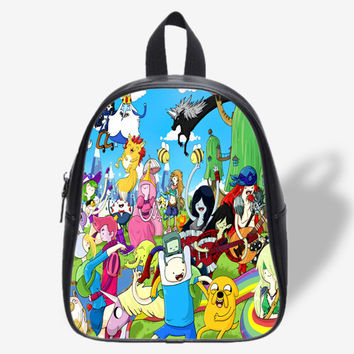 Any Time Is Adventure Time for School Bag, School Bag Kids, Backpack