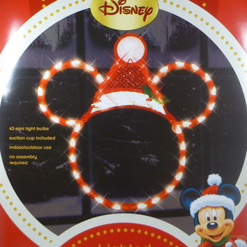 Disney Lighted Mickey Mouse Christmas Ornament