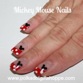 Mickey Mouse Decals for your Nails