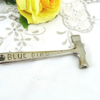 Blue Bird Toffee Hammer, Candy Hammer, Toffee Cracker, Hard Caramel, Kitchenalia, Mini Hammer, Barware, Kitchenware, Kitsch Collectable