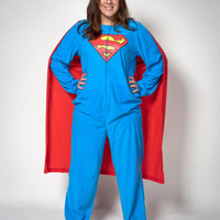 Superman Caped Pajamas