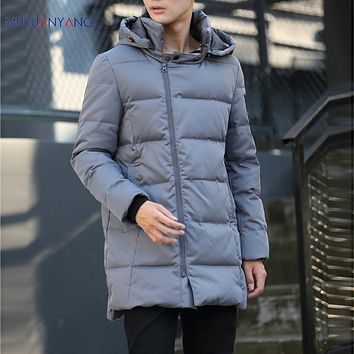 Warm Clothing Men's Down Jackets Casual White Duck Down Jacket Winter Snow Coats & Jacket