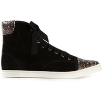 Lanvin Hi-top Sneakers - Larizia - Farfetch.com
