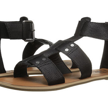 Billabong Women's Canyon Gladiator Sandal | Black, Sanddollar