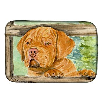 Dogue de Bordeaux Dish Drying Mat SS8926DDM