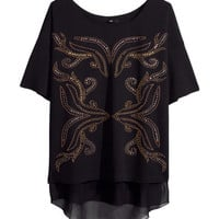 Studded Top - from H&M