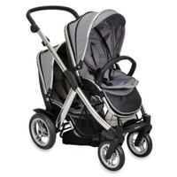 Joovy® Too Qool Silver Double Stroller in Charcoal