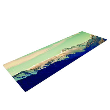 Land Of The Free Snow Mountain Top Yoga Mat