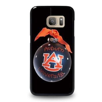 auburn university war eagle samsung galaxy s7 case cover  number 1
