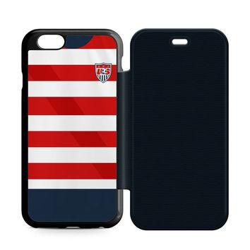 US Soccer Jersey New Flip iPhone 6   6S Case